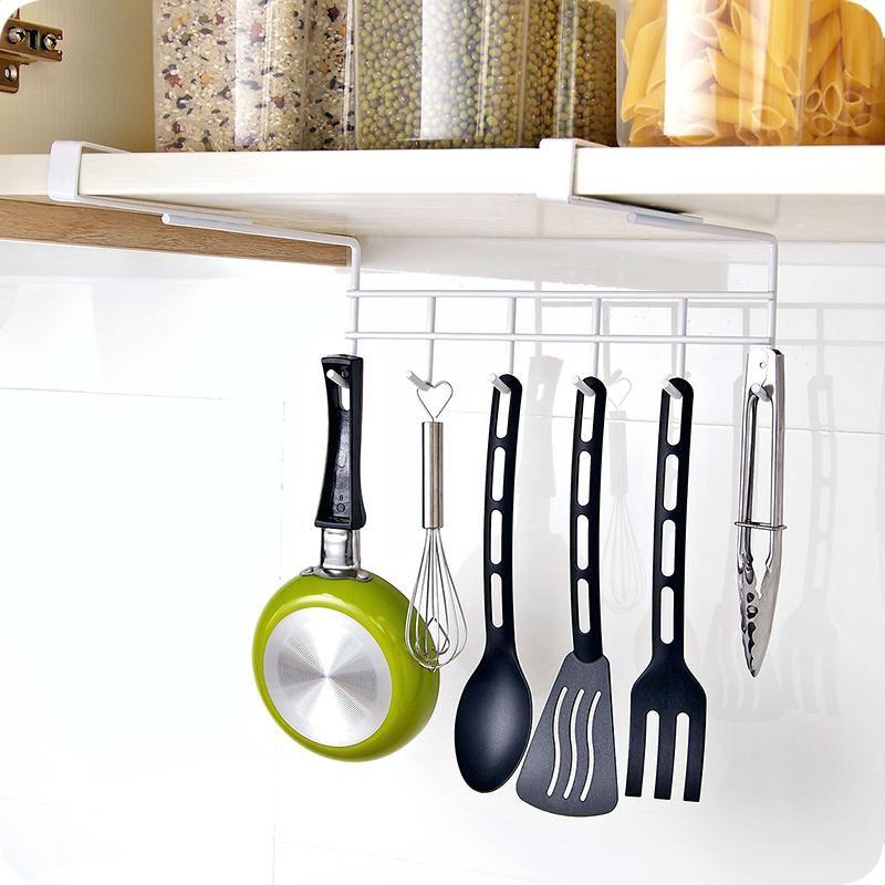 Shelf With Mug Hooks Mug Holder Under Shelf Stainless Steel Mug