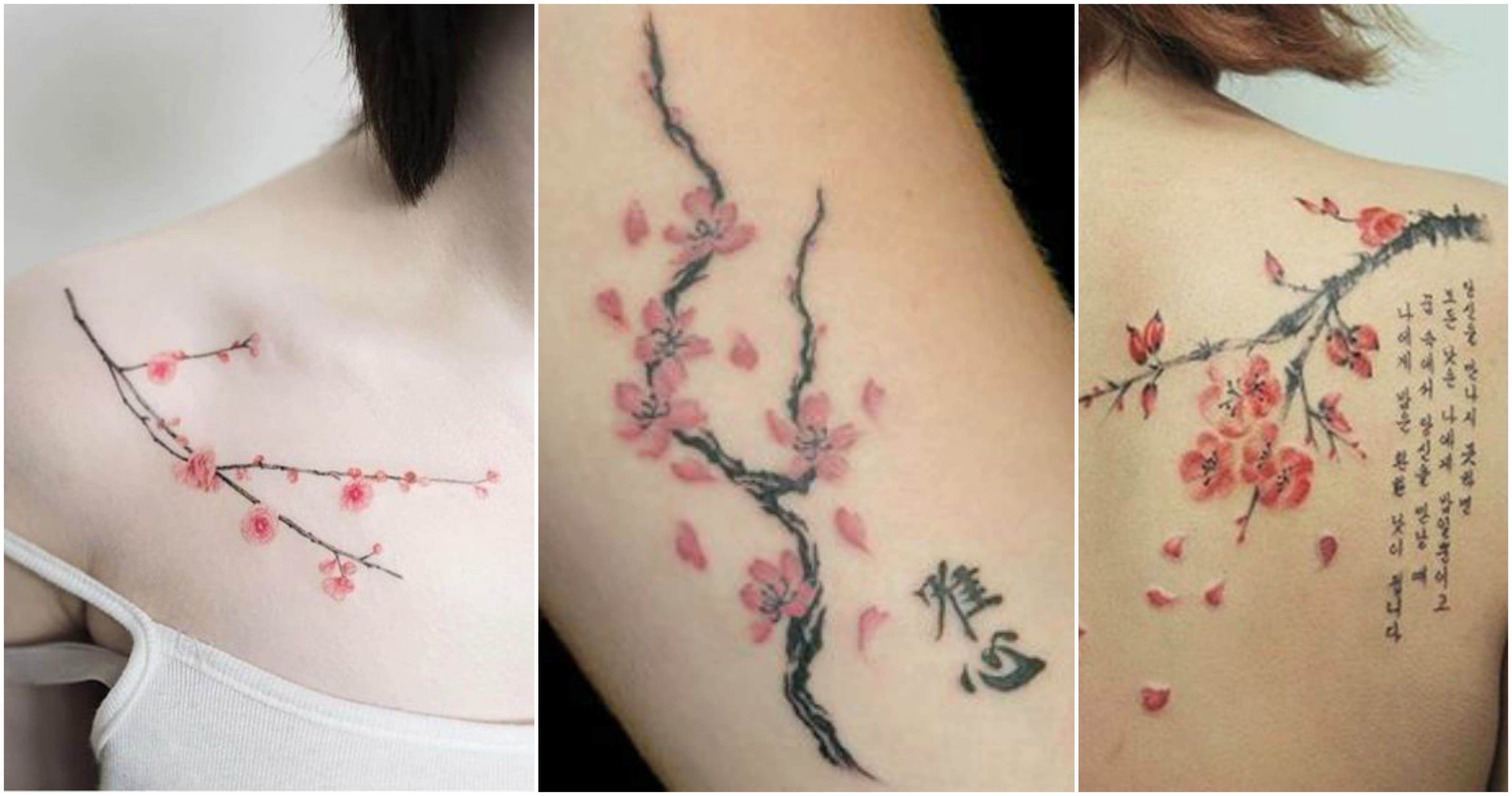 Uncover The Deep Meaning Of A Cherry Blossom Tattoo Design Japanese Tattoo Cherry Blossom Blossom Tattoo Cherry Blossom Tattoo