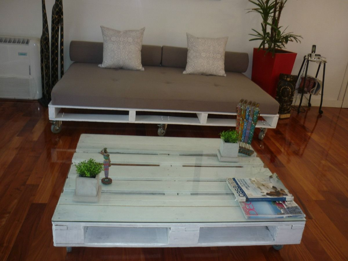 Sillon echo con pallets una idea genial muebles for Sillon con palets reciclados
