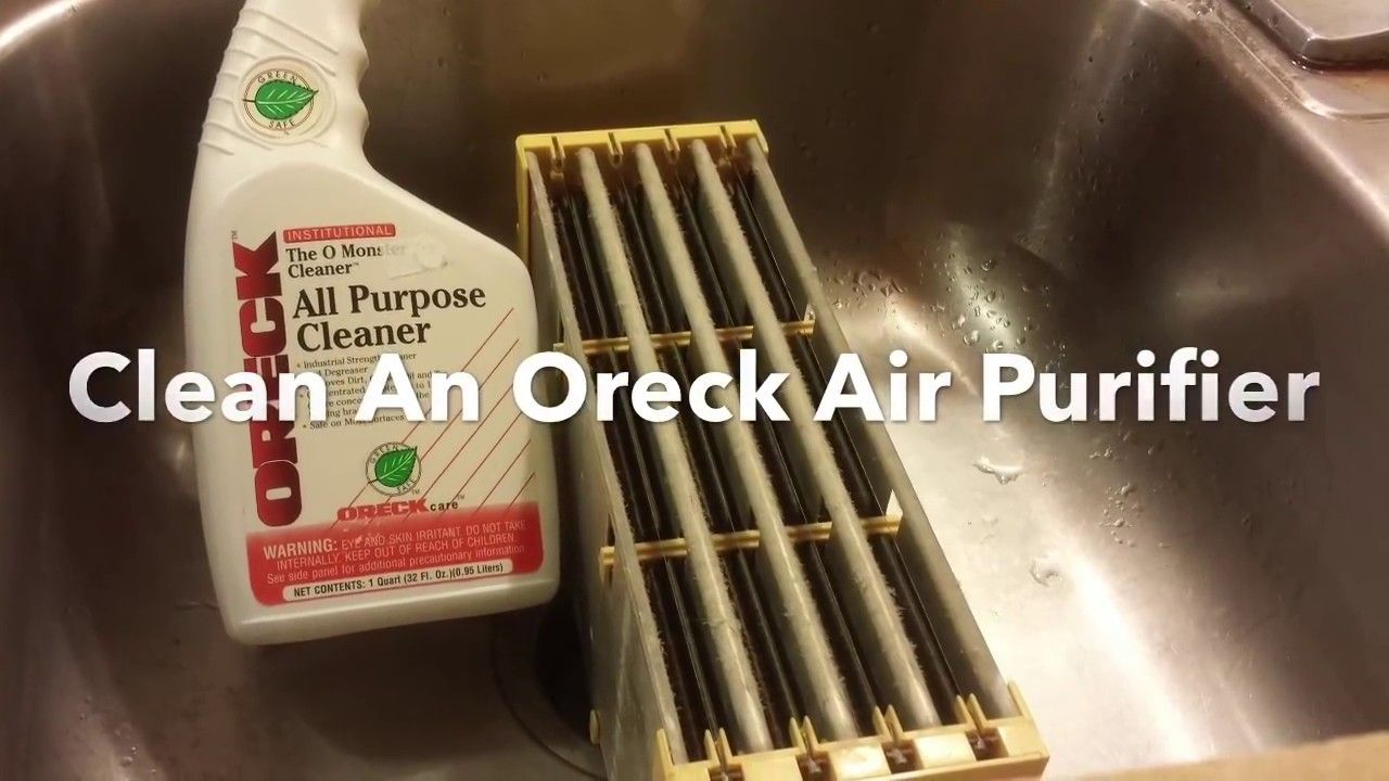 Cleaning Tool for Oreck Truman Cell Air Purifiers