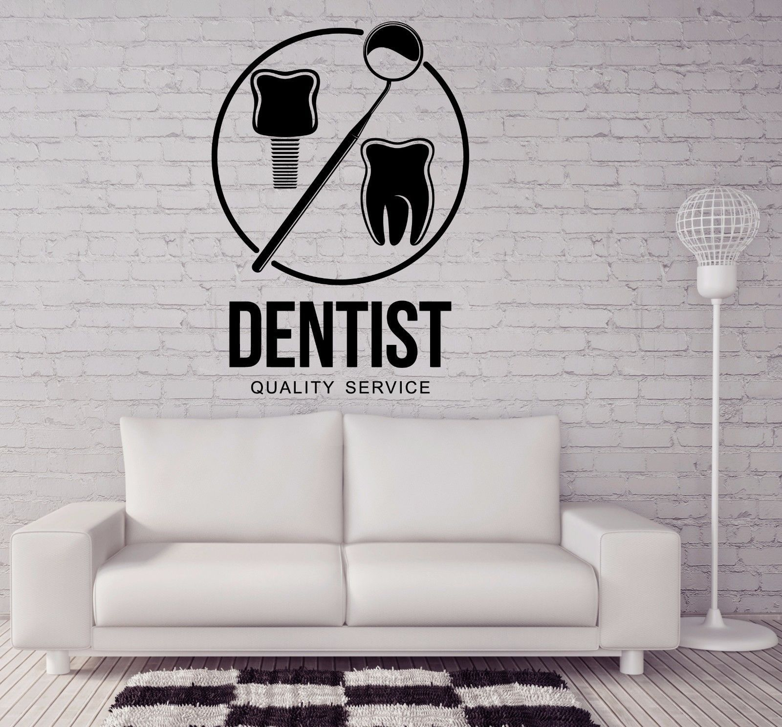 Vinyl Wall Stickers Decal Dental Clinic Poster Stomatology Decor Z4565 Dental Office Decor Dentist Dental Posters