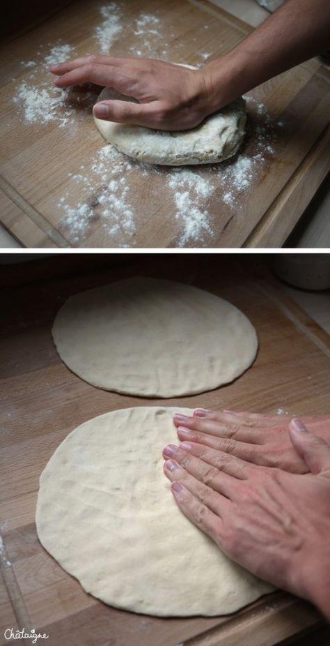 Pizza maison facile et trop bon, à faire et refaire !