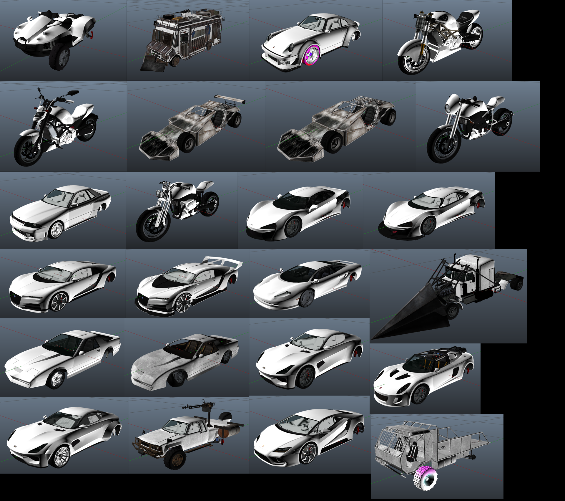 All new Import/Export DLC vehicles #GrandTheftAutoV #GTAV #GTA5
