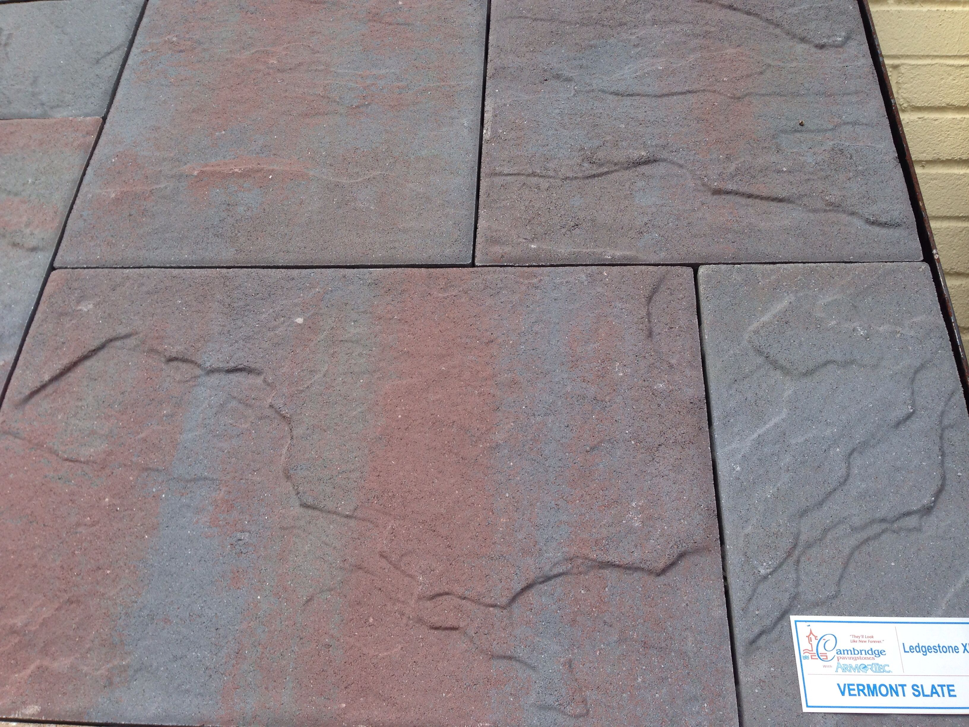 Cambridge vermont slate hardscaping pinterest for Vermont slate colors