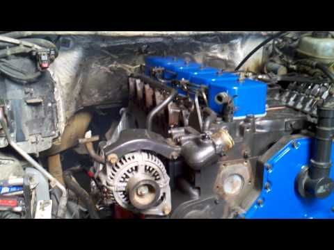 12 Valve Ford Cummins Conversion Cummins Diesel Trucks Small Diesel Generator