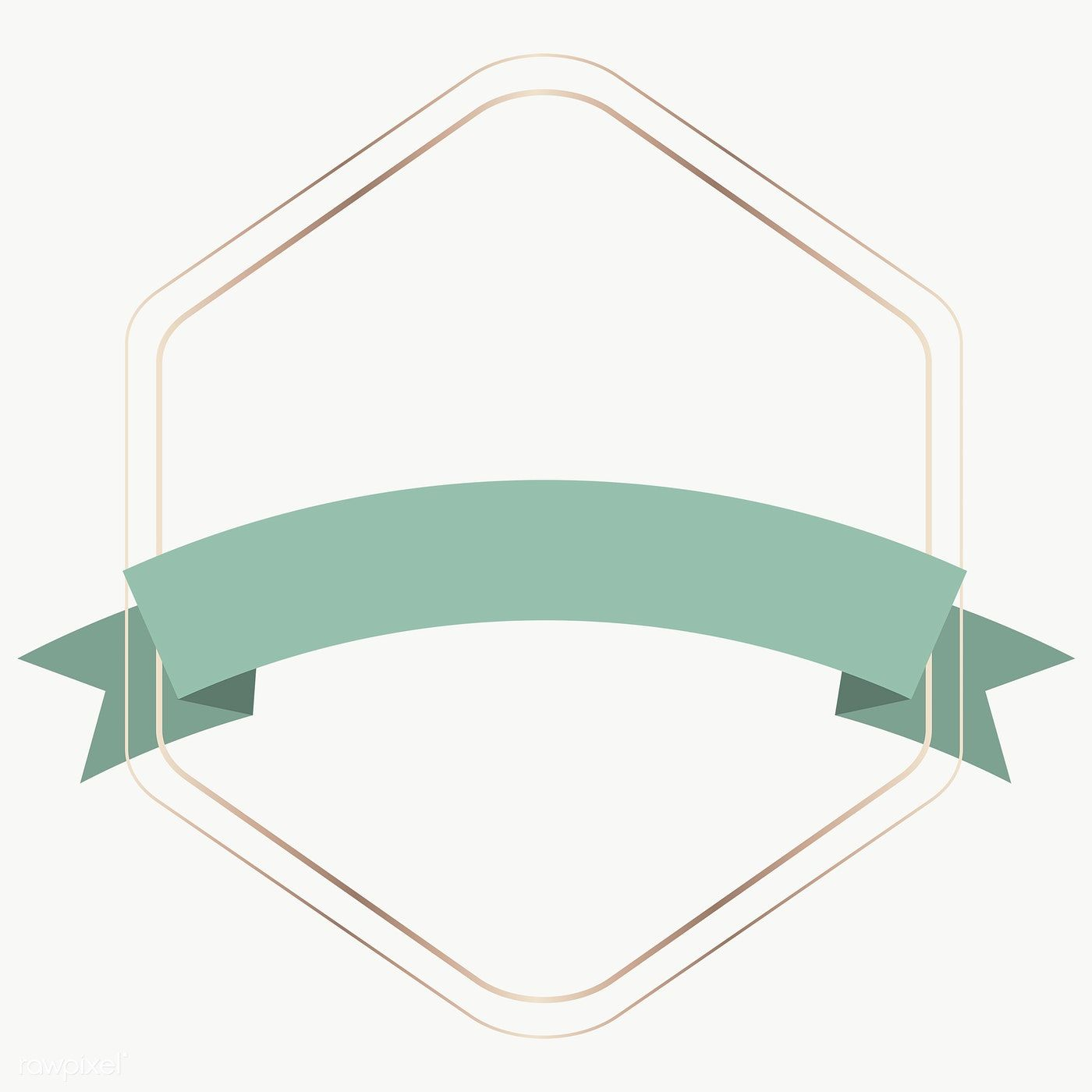 Gold Frame With Green Ribbon Banner Transparent Png Premium Image By Rawpixel Com Nunny Ribbon Banner Frame Ribbon Green Ribbon