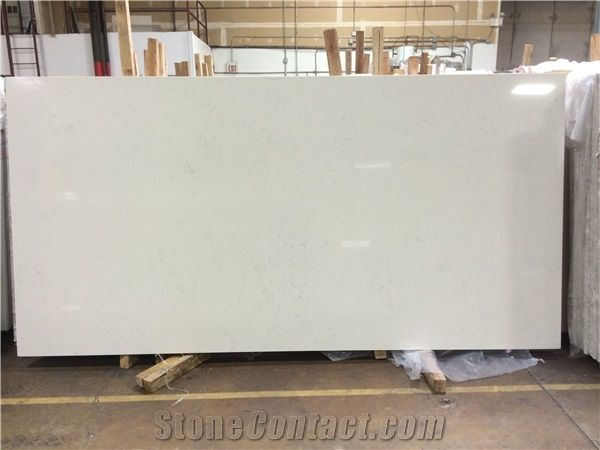 Aspen White Cosmos Quartz Stone Slabs From United States Stonecontact