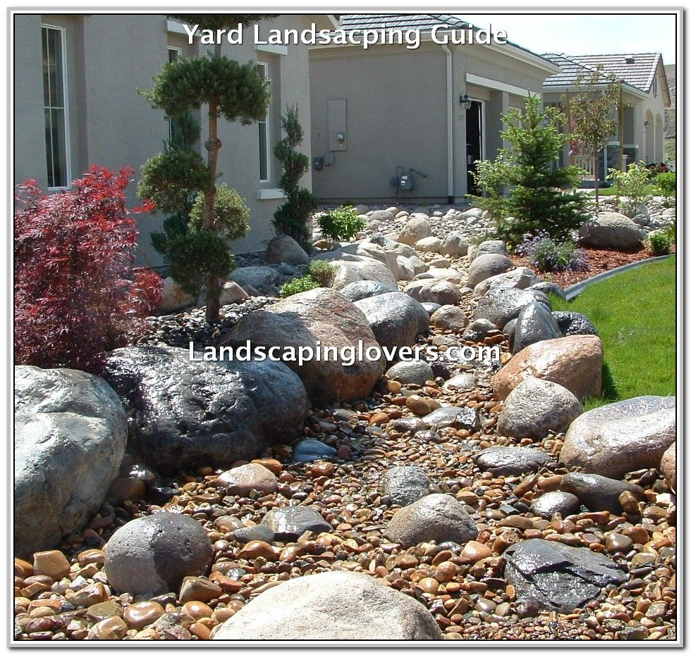 Create A Perfect Yard With These Tips Landscaping Lovers River Rock Landscaping Landscaping With Rocks Rock Garden Landscaping