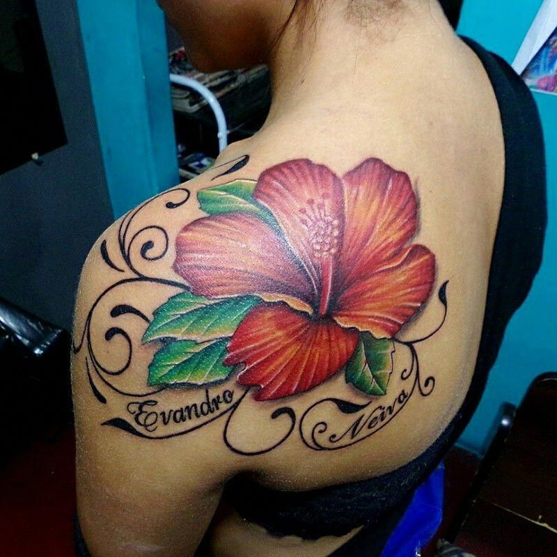 Flower Tattoo Samoantattoos Hibiscus Tattoo Flower Tattoo