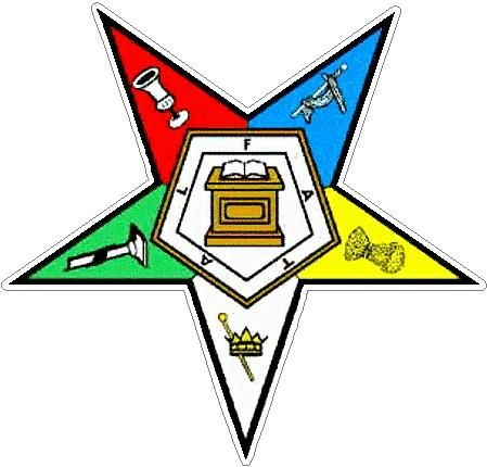 Eastern Star Image Eastern Star Color Logo Masonic Decals