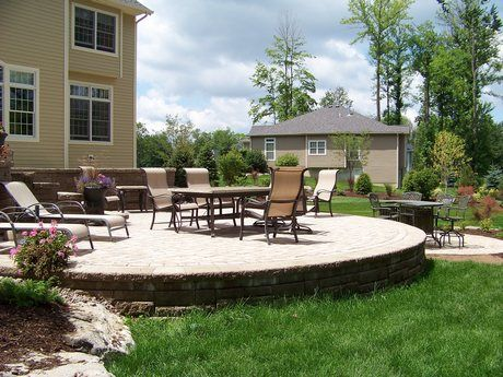 Aspinallu0027s Landscaping Concrete Paver And Natural Stone Patios