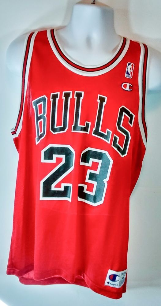 premium selection 16544 228e1 Michael Jordan #23 Chicago Bulls Black & Red Home Champion ...