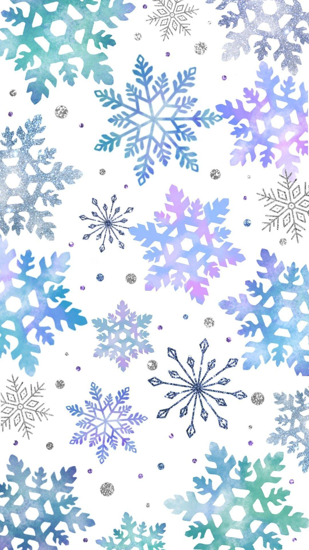 Snowflake wallpaper #winterwallpaper Winter wallpaper #winterwallpaper
