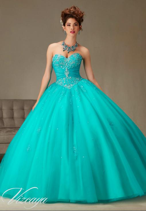 Vestidos De 15 Años Azul Turquesa Juveniles Ball Dresses