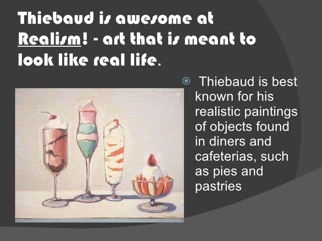 Wayne Thiebaud, Art