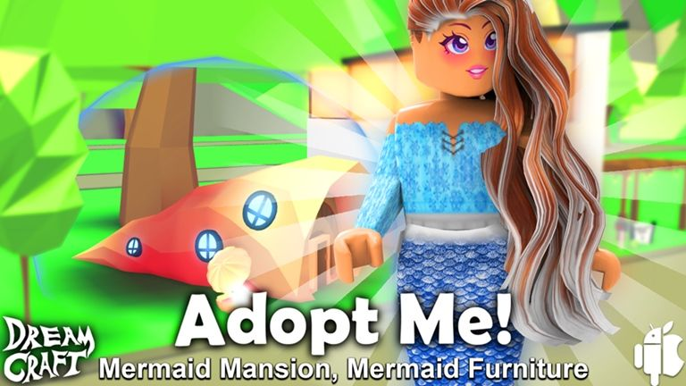 Mermaid Adopt Me Roblox Adoption Roblox My Roblox