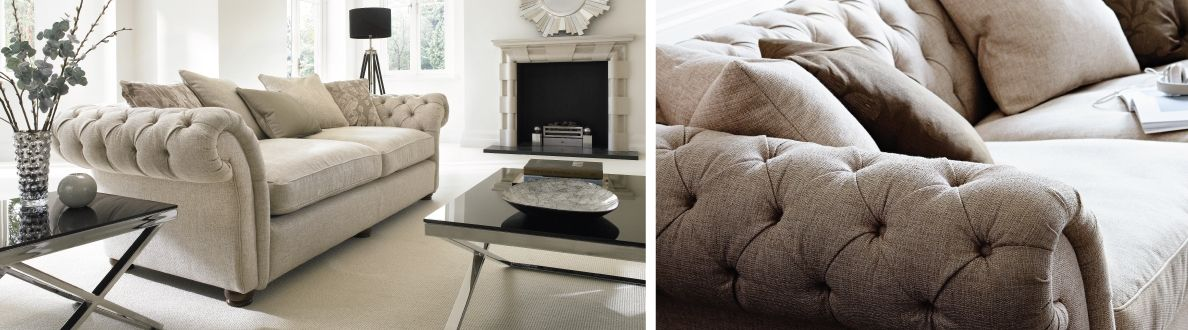 Langham Place 4 Seater Sofa   Furniture Village