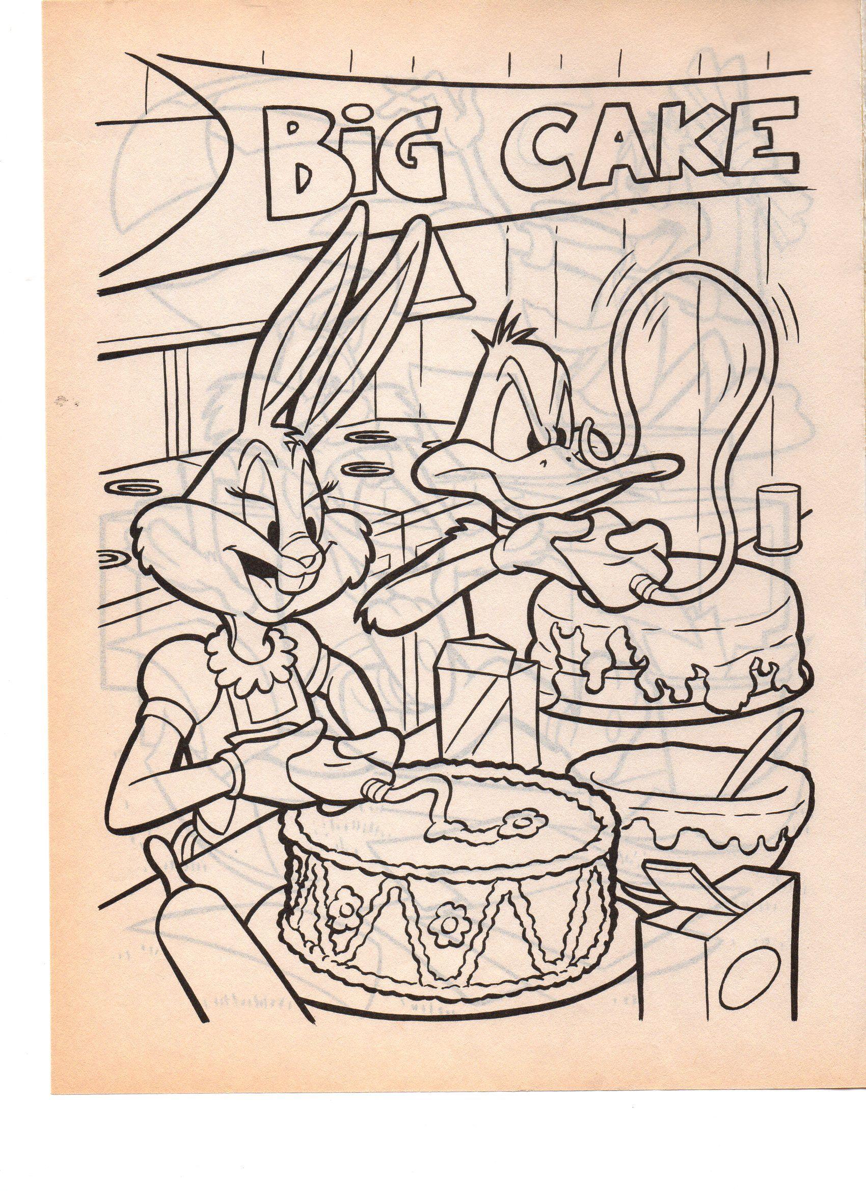 LOONEY TUNES DADDY DUCK N HONEY BUNNY | Honey bunny ...
