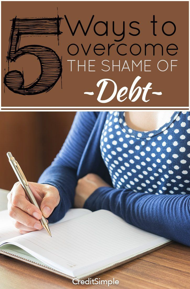 5 ways to the shame of debt debt counseling