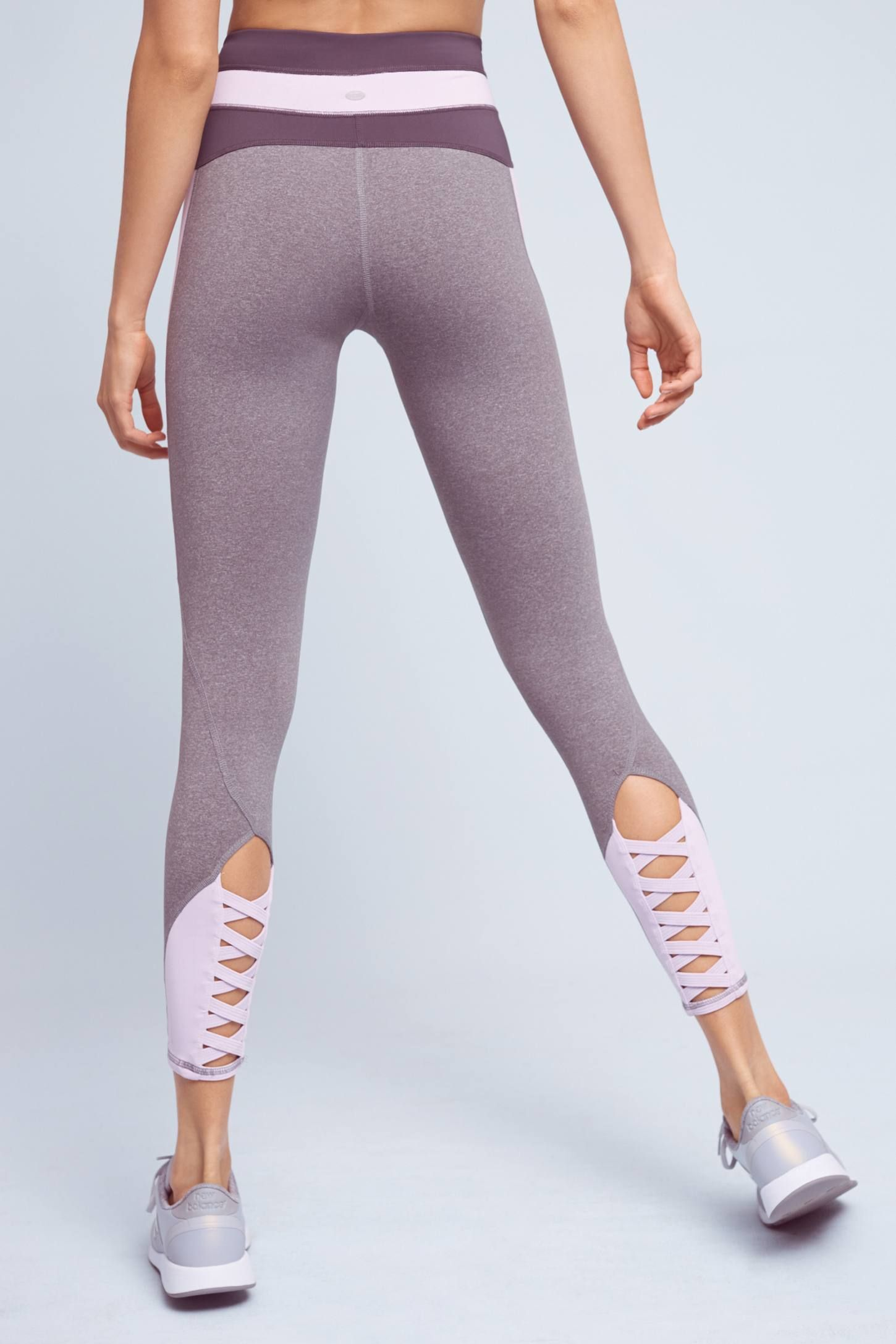 Slated Colorblock Leggings Workout attire, Athletic