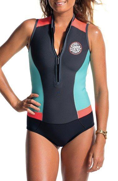 91cbfea8e1 Rip Curl 'G Bomb' Sleeveless Wetsuit #surf #girlzactive #wetsuit ...