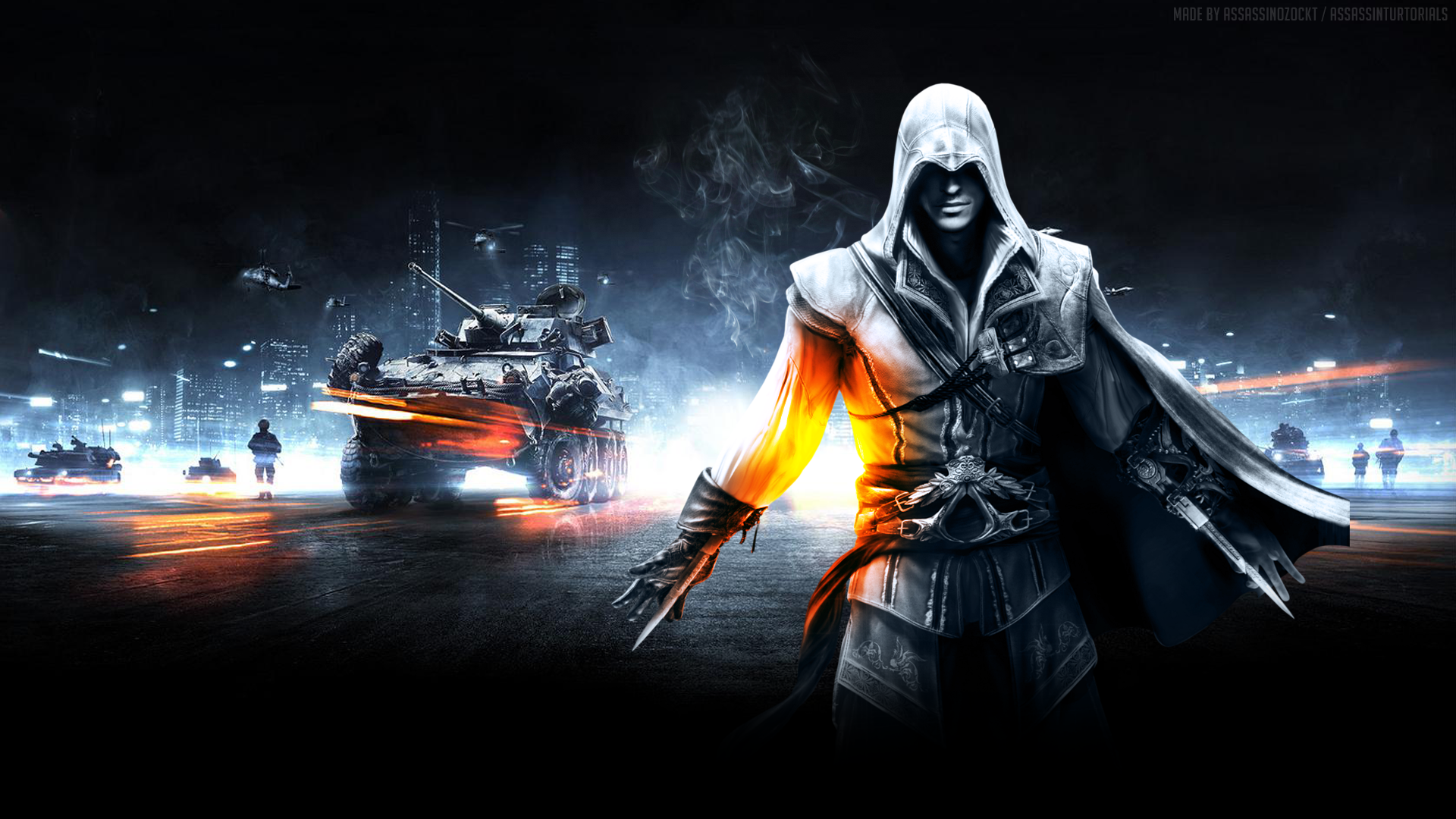 Video Game Wallpaper  Collage Assassins