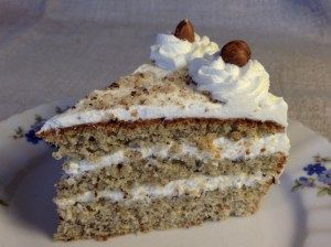 Photo of A wonderful nut cake, easy and easy to bake