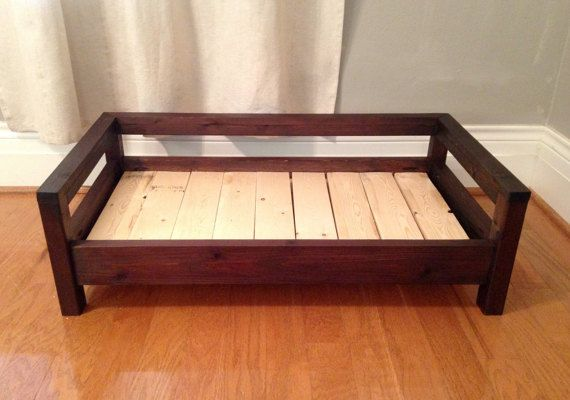 Medium Dog Bed Raised Dog Bed Elevated Dog Bed By Cozycama Wood