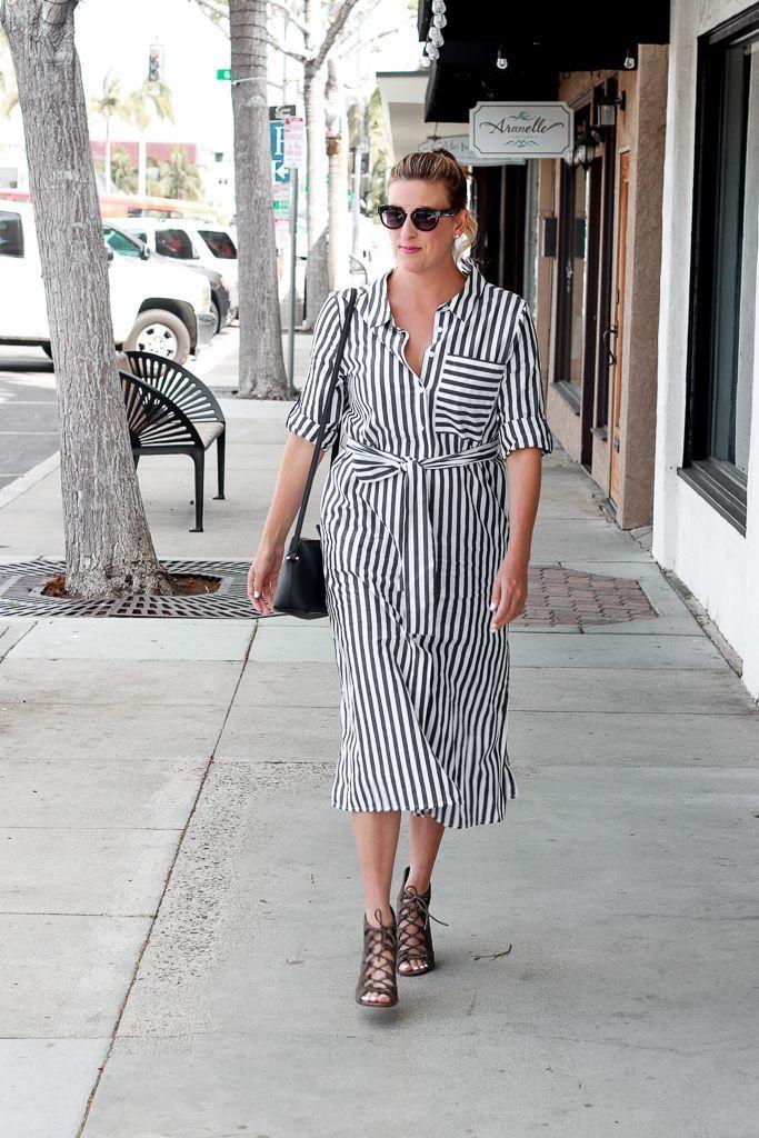 44++ Striped shirt dress info