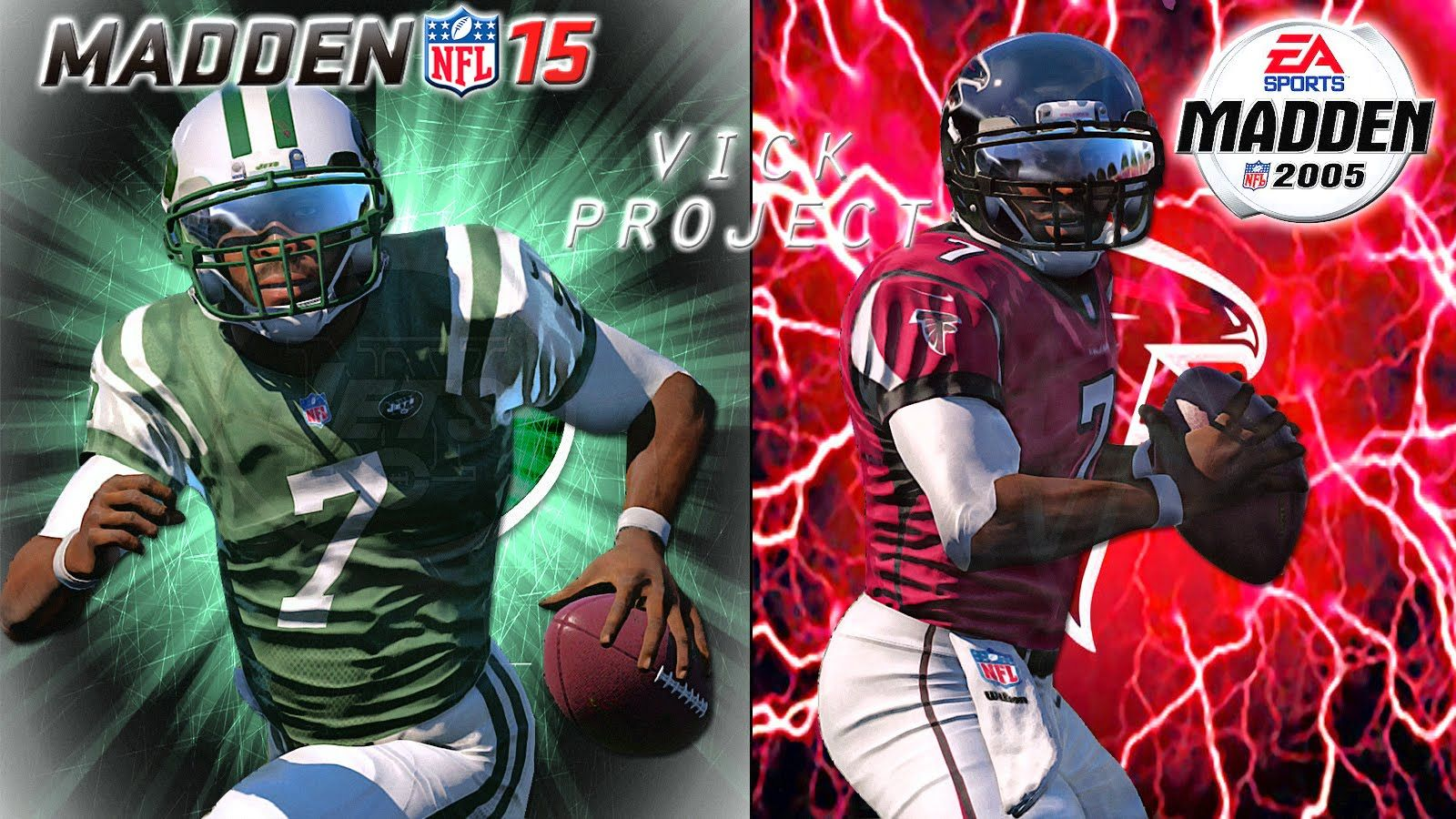 Madden Nfl 15 1080phd Ps4 Mike Vick Is Back Falcons At Jets Mike Vick Madden Nfl Nfl