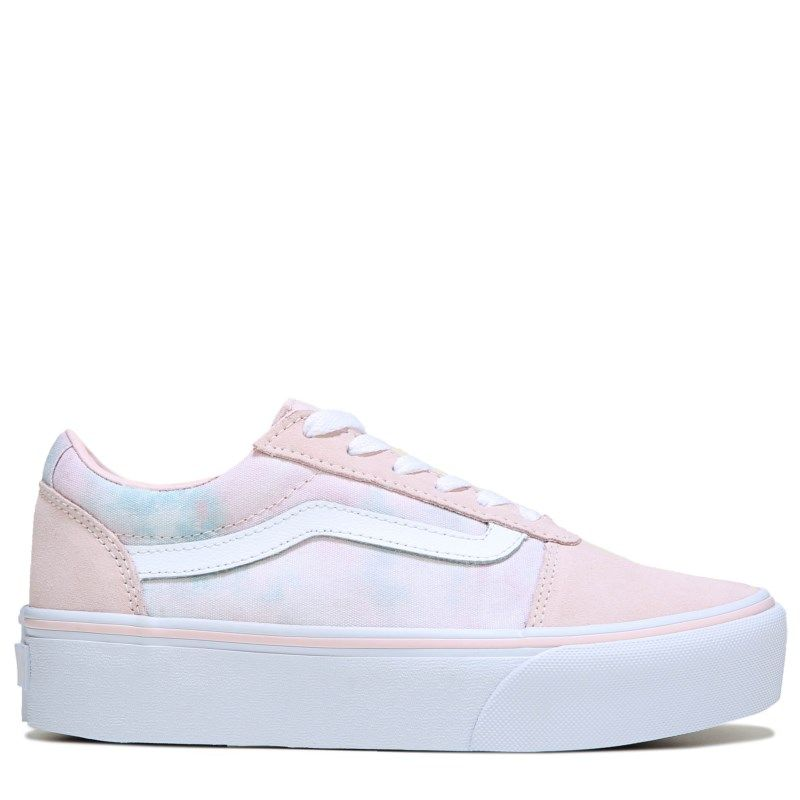 1f46c60ed0fd Vans Women s Ward Platform Skate Shoes (Pinkcloud)