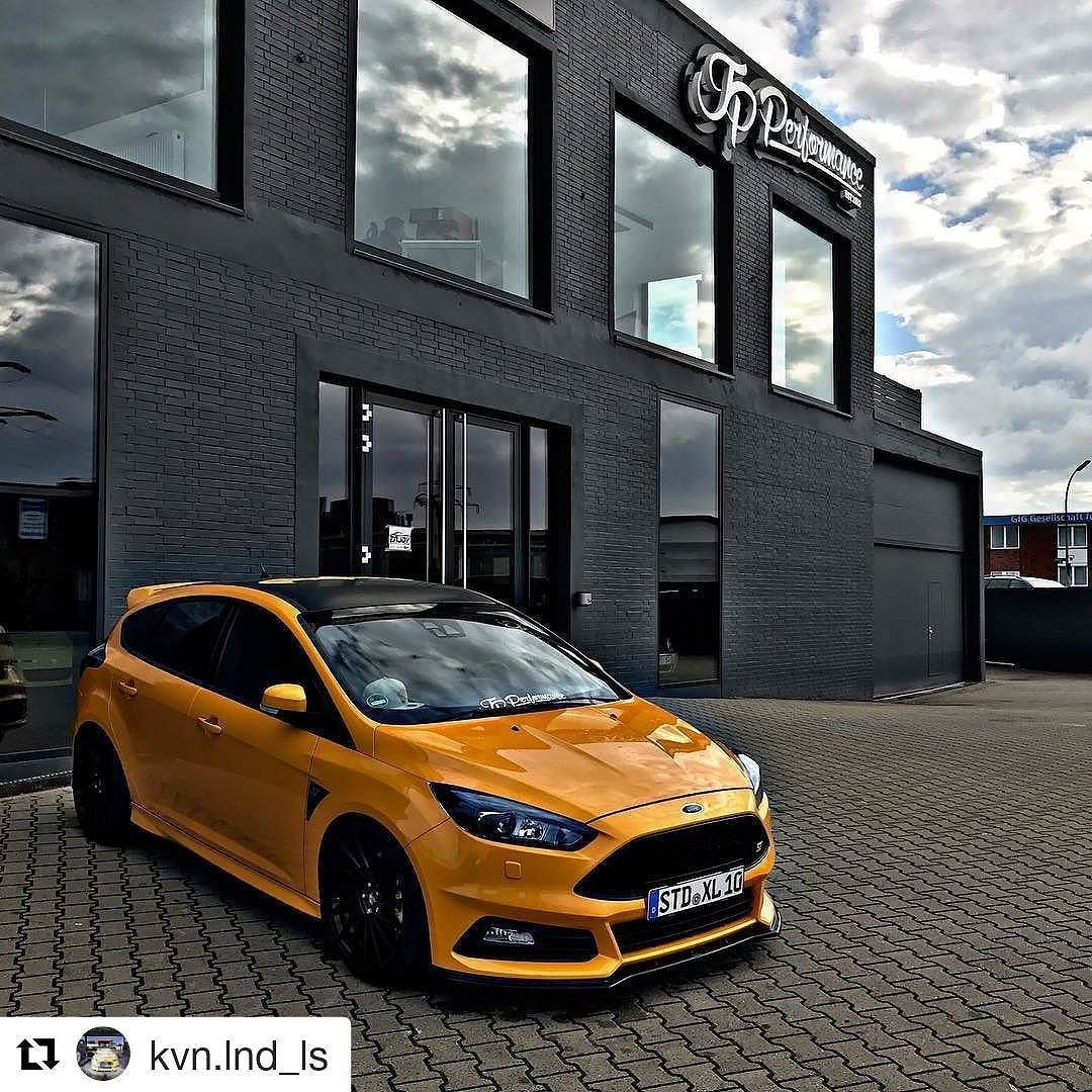 Ford Focus St Fordfocusst Focusst Fordfocusst3 Turbo Focusst3 Jpperformance Sunset Black Yellow Boost Ecoboos Ford Focus St Ford Focus Super Cars