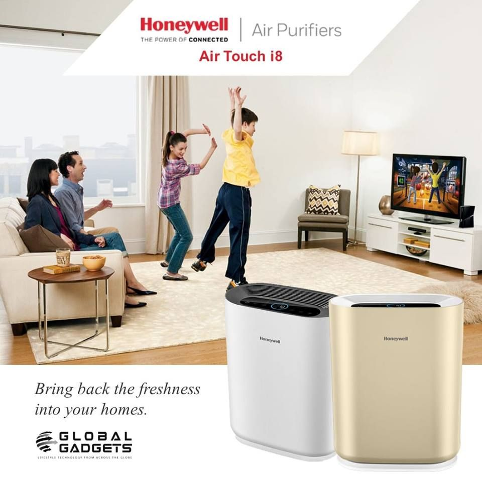 Honeywell Air Touch I8 Is A Powerful Air Purifier It Can Clean The Air In Rooms As Large As 387 Sq Ft Which Should Cover The Air Purifier Honeywell Cleaning