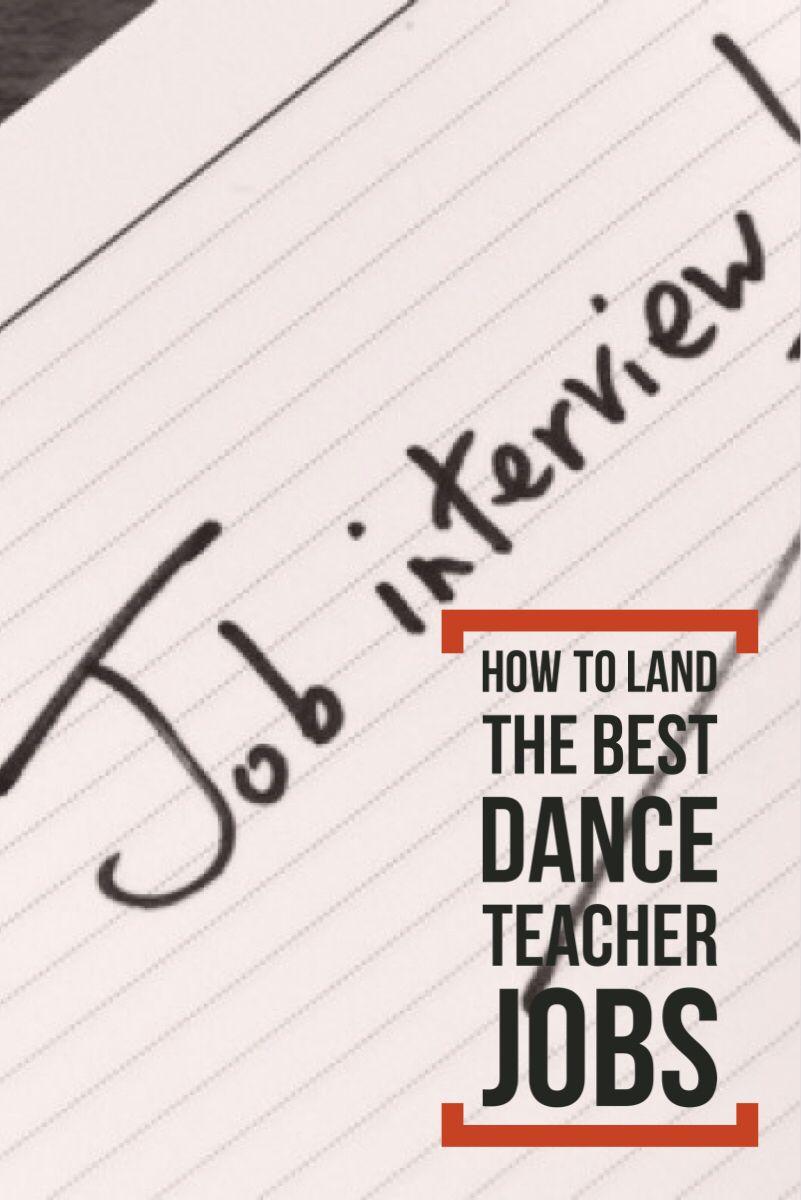 How to Land the Best Dance Teacher Jobs Jobs for