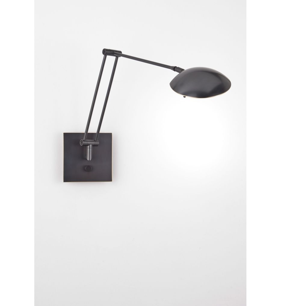 Holtkotter - Bernie Turbo Series Low Voltage Swing-Arm Wall Sconce | Lamps.com
