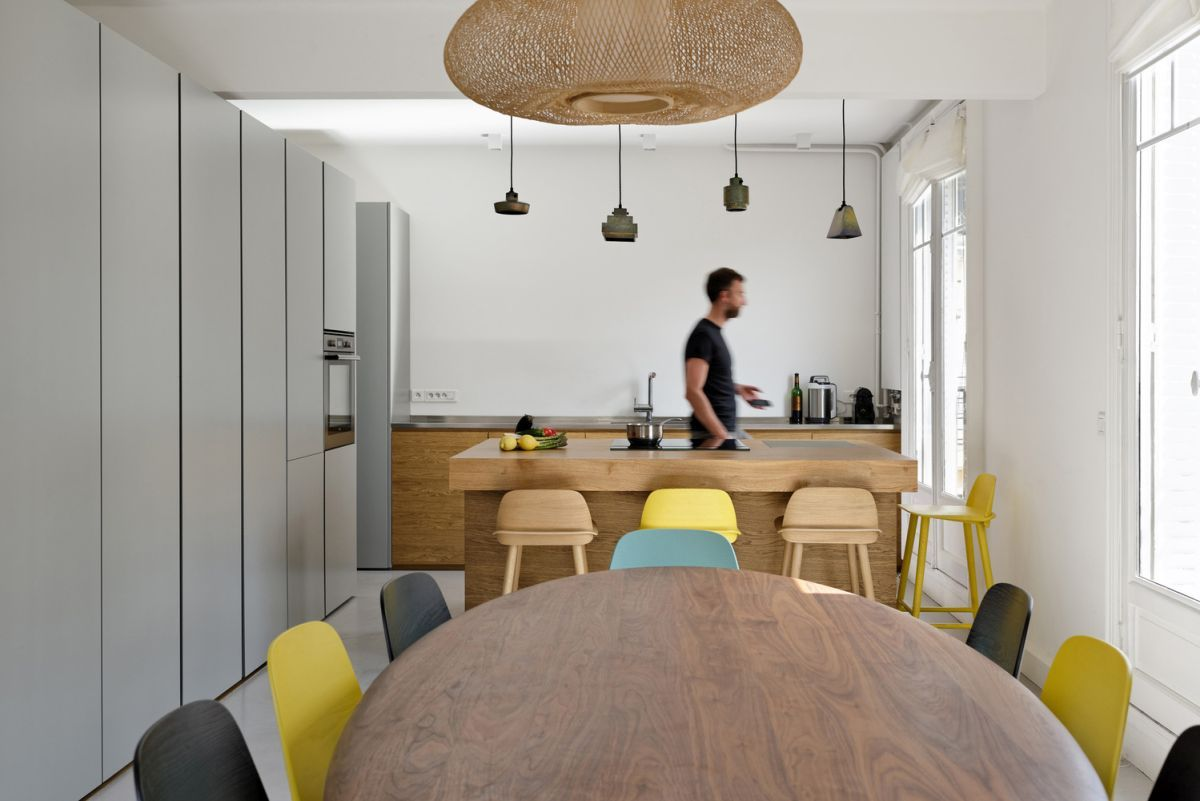 Two Apartments Joined Into A Stylish Family Maisonette homedit.com