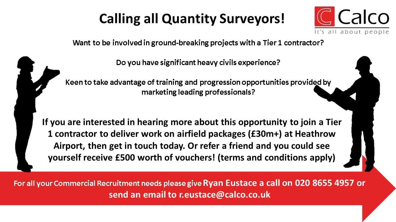 Calling All Quantity Surveyors Good Communication Skills