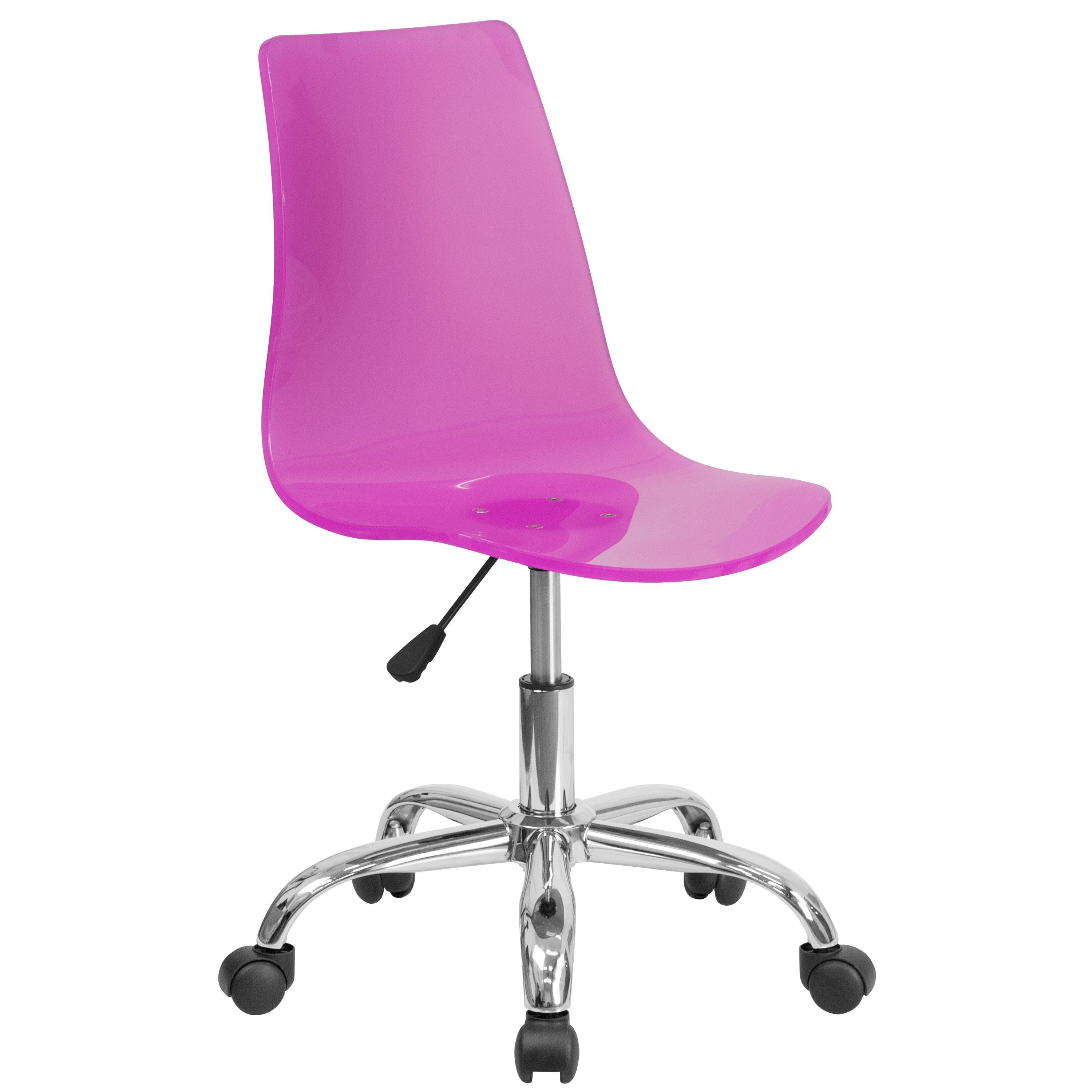 Lotos Hot Transparent Acrylic Swivel Office Chair With Base Products Pinterest Swivel Office Chair Pink Acrylics And Acrylics
