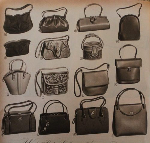 bb45e27ccac 1950s Handbags, Purses, and Evening Bag Styles   1950s Fashion ...