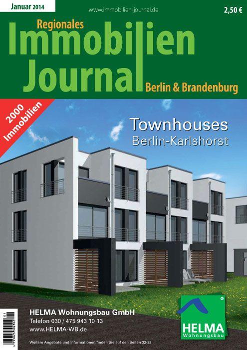 Die JanuarAusgabe des Regionale Immobilien Journals