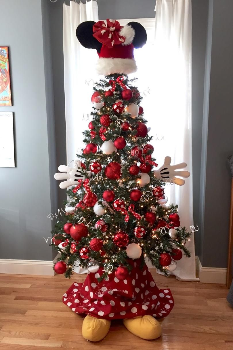 Mickey Mouse Christmas Tree Decorating Ideas.Christmas Tree Themes For Any Style Christmas Tree Themes