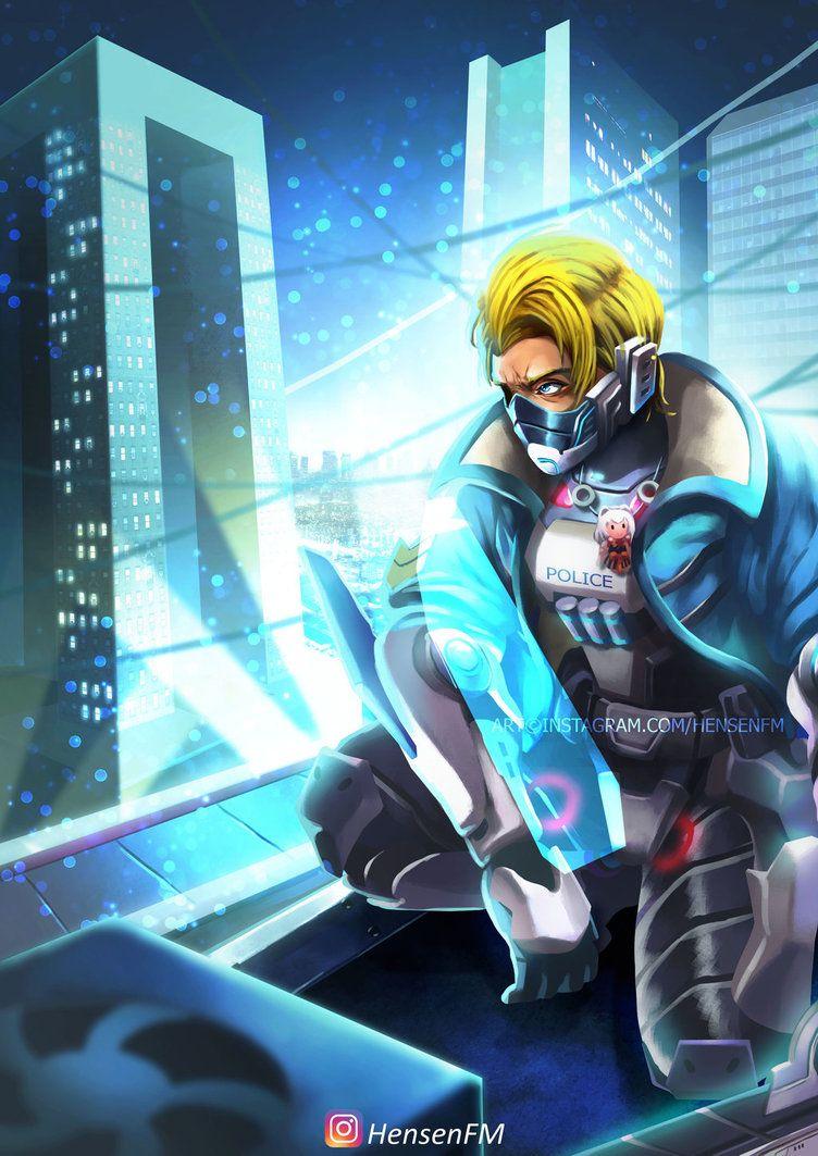 Hayabusa Future Enforcer Mobile Legends By Hensenfmdeviantartcom