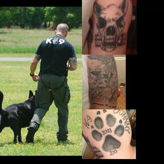 K9 Tattoo Cop Tattoos Police K9 Tattoos
