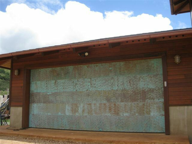 Copper Garage Door Garage Doors Unique Garage Doors Modern Garage
