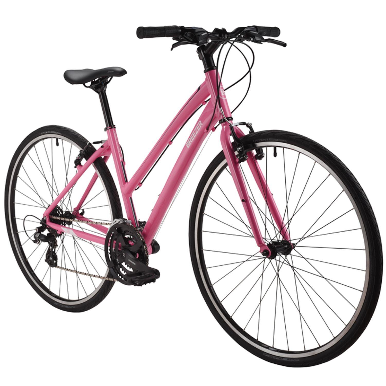 Breezer Discovery 3 Women S Flat Bar Road Bike Bike Nashbar