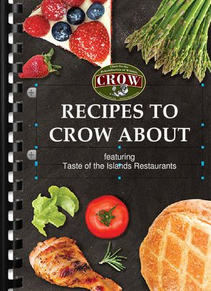 CROW to release first ever cookbook. Recipes are from staff, volunteers and Facebook fans.  The book is set to be released in November 2015.