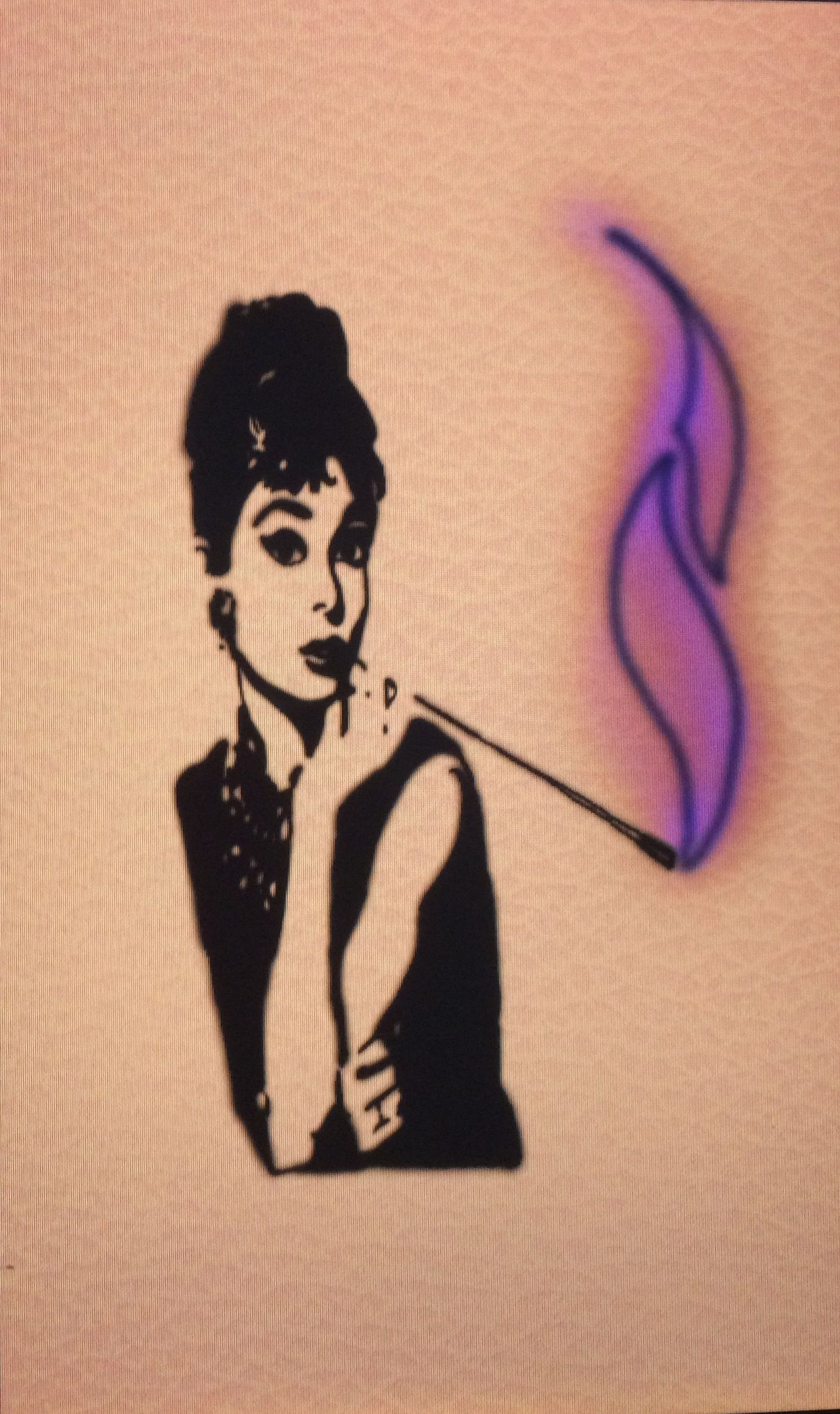 Tiffany Sutton Tattoo Artist: Audrey Hepburn: Breakfast At Tiffany's