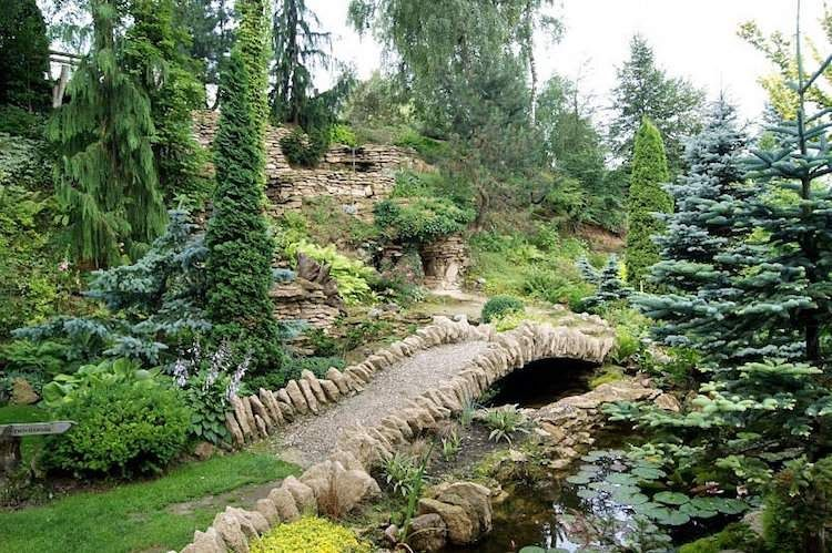Amenagement Jardin En Pente Astuces Pour Apprivoiser Le Terrain Sloped Garden Garden Layout Landscape Design