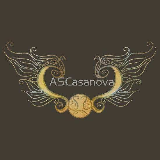 """Golden snitch "" T-Shirts & Hoodies by ASCasanova | Redbubble"