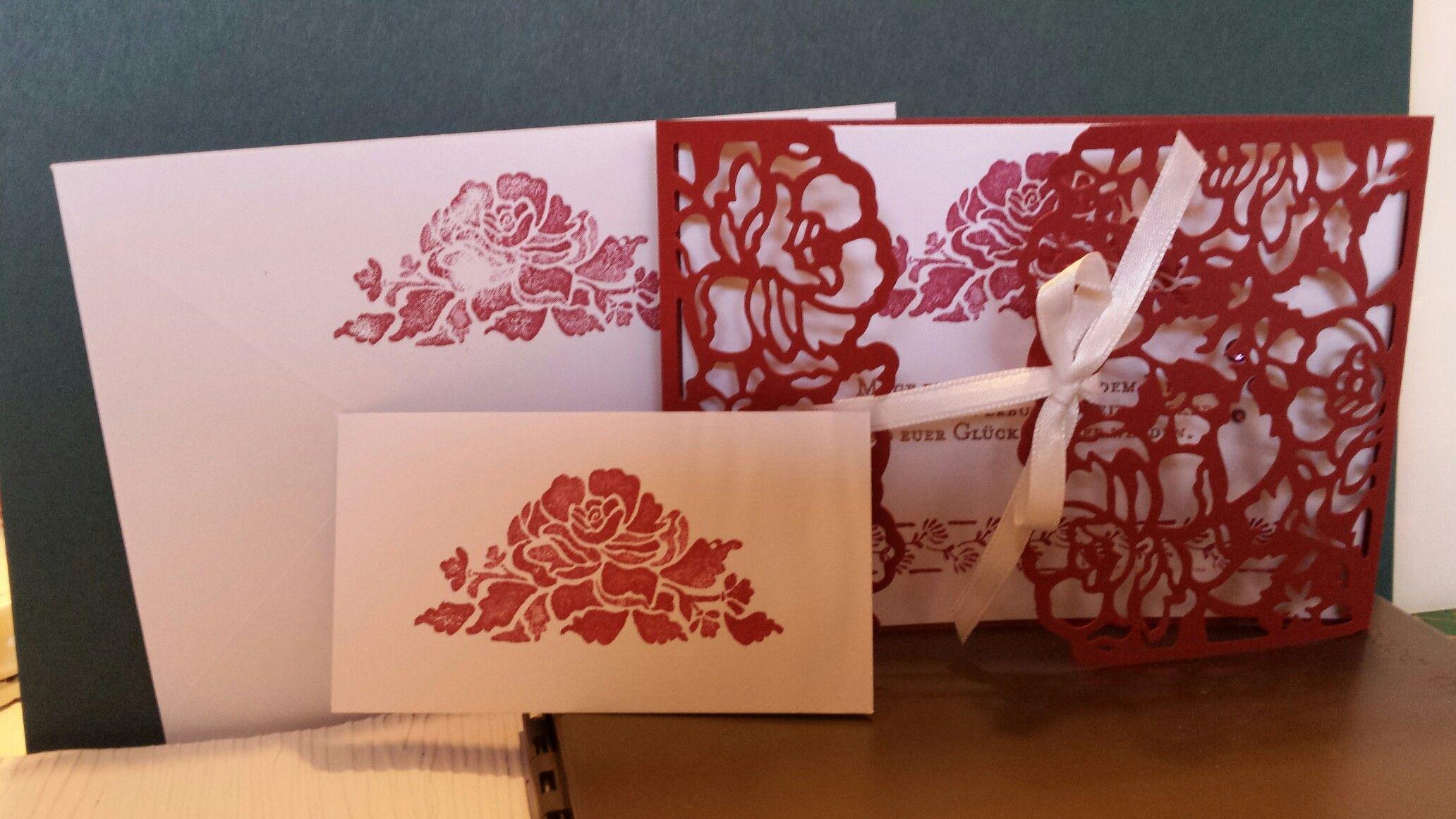 Zur Vermahlung Hochzeitskarten Pinterest